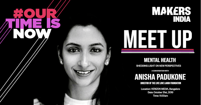 MAKERS India Meet-Up with Anisha Padukone