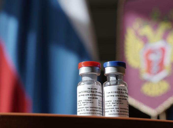 "<span class=""caption"">On Aug. 11, Russian President Vladimir Putin announced that a coronavirus vaccine developed in the country has been registered for use.</span> <span class=""attribution""><a class=""link rapid-noclick-resp"" href=""https://www.gettyimages.com/detail/news-photo/photo-shows-vials-of-vaccine-called-gamcovidvac-in-moscow-news-photo/1228002428?adppopup=true"" rel=""nofollow noopener"" target=""_blank"" data-ylk=""slk:Russian Health Ministry/Handout/Anadolu Agency via Getty Images"">Russian Health Ministry/Handout/Anadolu Agency via Getty Images</a></span>"