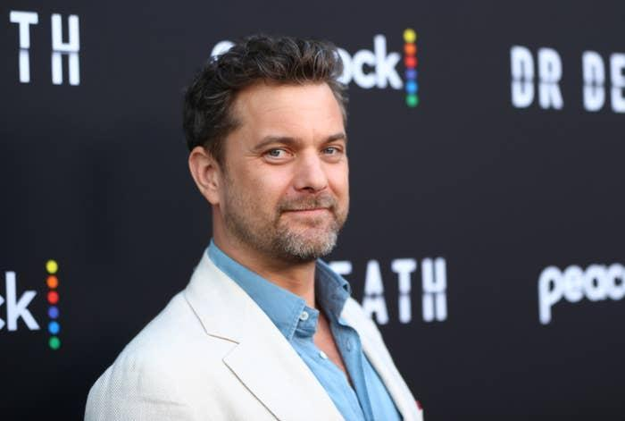 Joshua Jackson is pictured at an event in July 2021