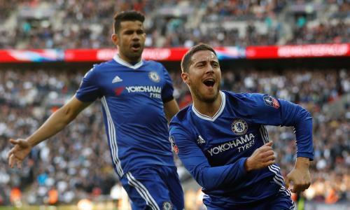 Eden Hazard clinches semi-final thriller for Chelsea against Tottenham
