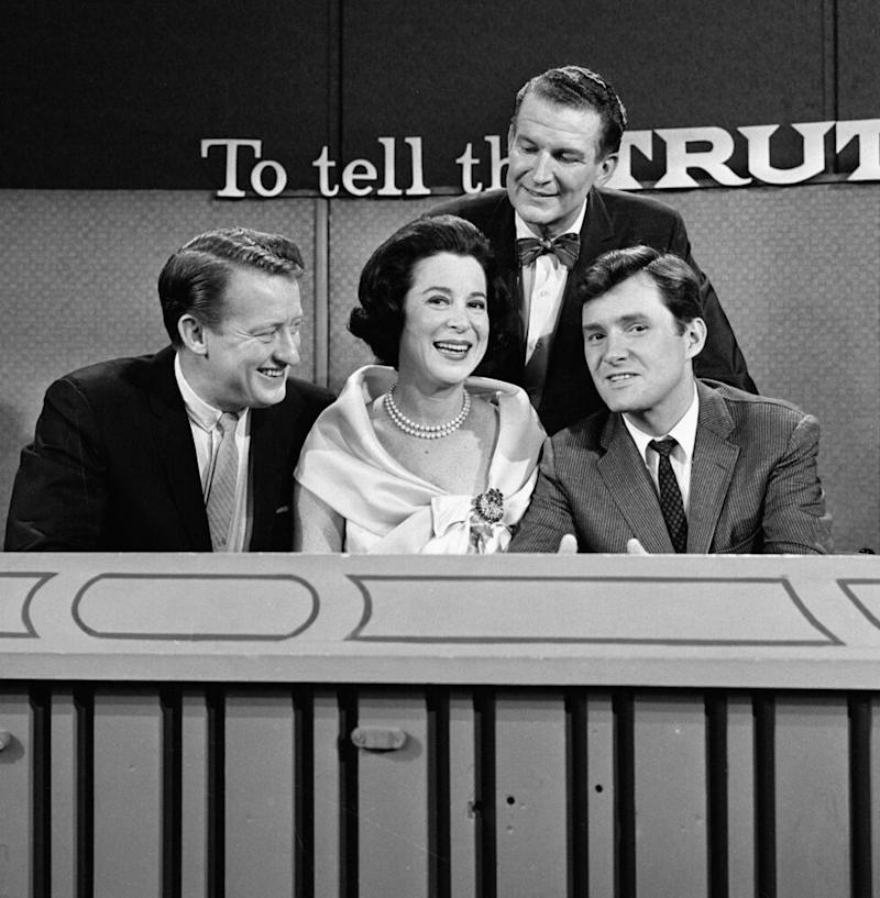 Orson Bean with Tom Poston, Kitty Carlisle, and host Bud Collyer on the set of To Tell the Truth | CBS Photo Archive/Getty Images