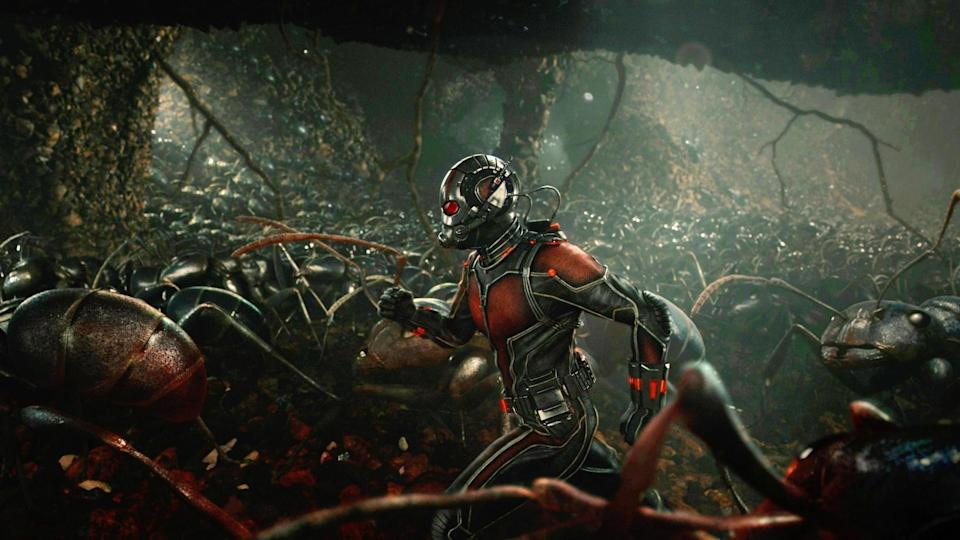 <p>By no means one of the studio's most successful entries, but what the Paul Rudd-led story gives us is a different spin on the typical Marvel movie. More of a gamble than most, the pint-sized, far-fetched heist came out of production hell in pretty good shape. </p>