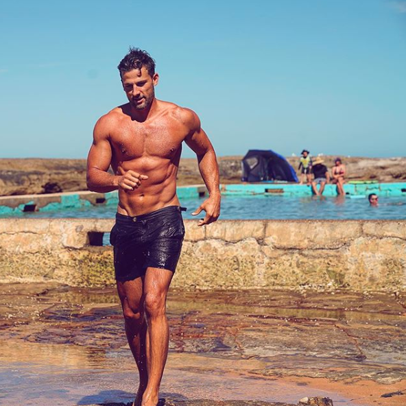 Tim Robards has revealed how he is prepping for his wedding to look and feel his best. Source: Instagram / @drtimrobards