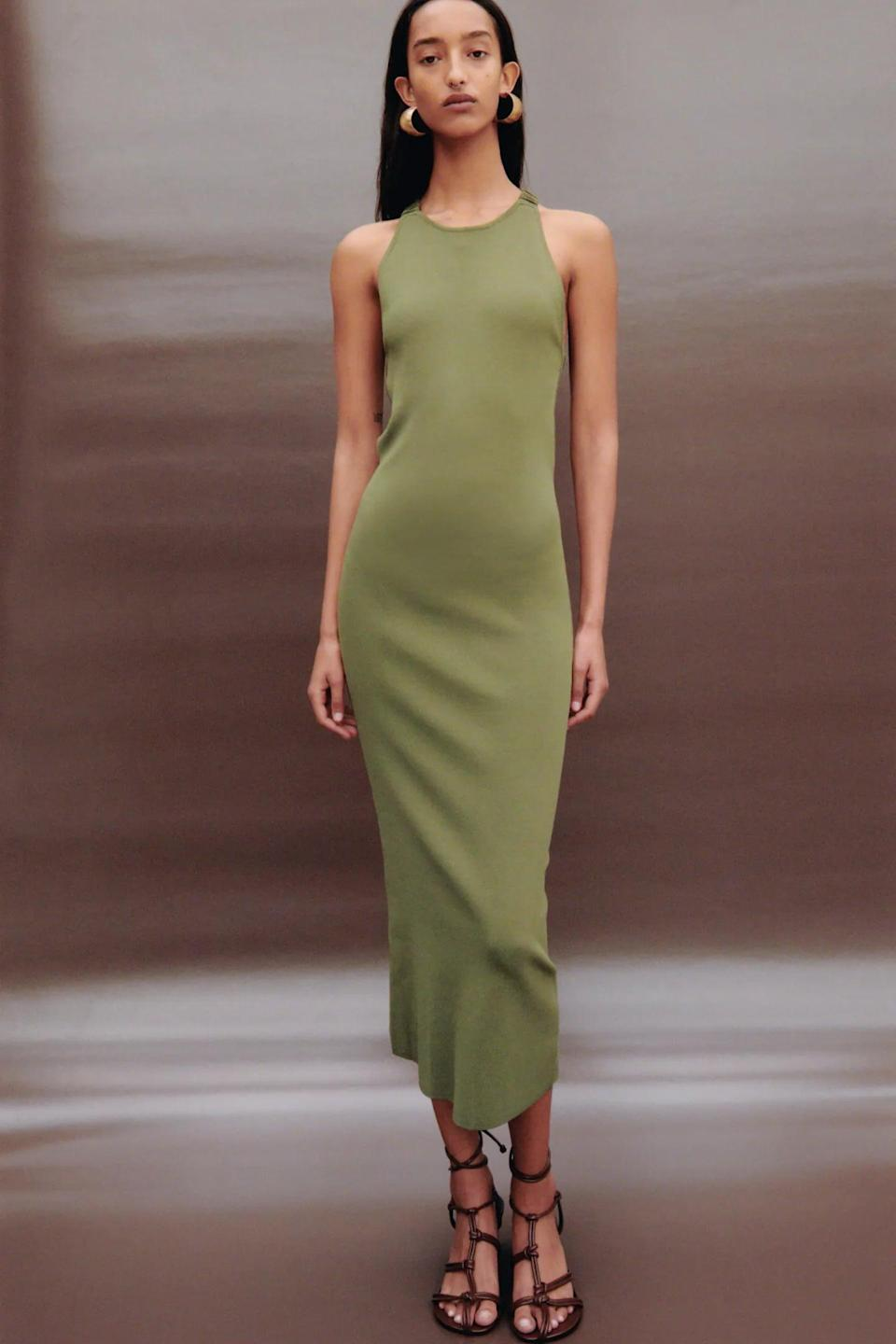 <p>This <span>Zara Knit Midi Dress</span> ($50) is a perfect choice for spring picnics.</p>