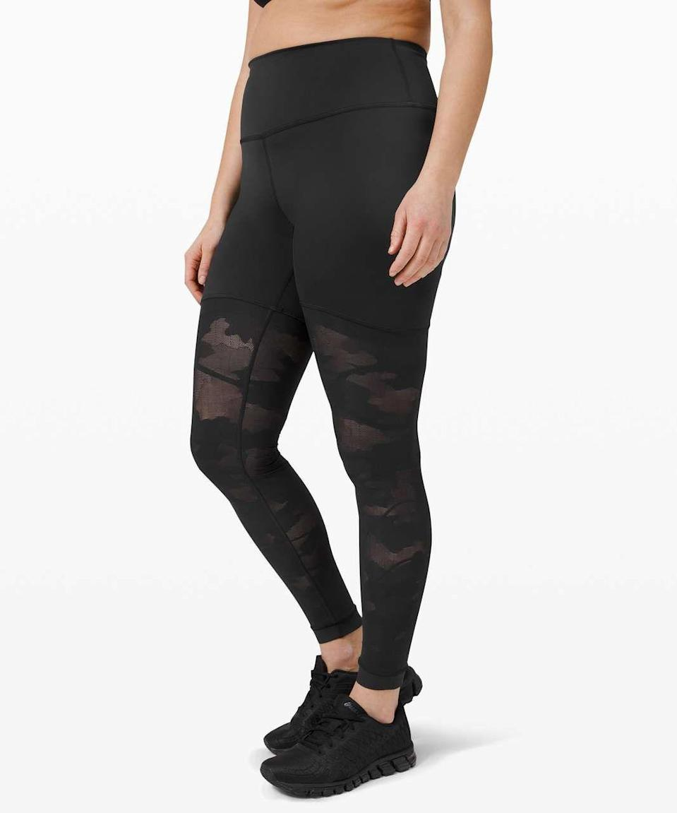 <p><strong><del>$148</del> $79 (47% off)</strong></p><p>If you only wear black workout clothes (which, fair), these super comfy high-rise leggings will add some spice to your wardrobe without making you stray too far outside your comfort zone.</p>