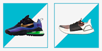 """<p>Good news for anyone else who's in need of a sneaker upgrade right about now. <a href=""""https://www.menshealth.com/technology-gear/a36041945/amazon-prime-day-2021/"""" rel=""""nofollow noopener"""" target=""""_blank"""" data-ylk=""""slk:Prime Day"""" class=""""link rapid-noclick-resp"""">Prime Day</a>, aka the 48-hour Olympic equivalent of shopping holidays, has officially kicked off. And after doing some ninja-like navigating, we found that a handful of deals on Adidas, New Balance, and more are already live on <a href=""""https://www.amazon.com/?tag=syn-yahoo-20&ascsubtag=%5Bartid%7C2139.g.33501651%5Bsrc%7Cyahoo-us"""" rel=""""nofollow noopener"""" target=""""_blank"""" data-ylk=""""slk:Amazon"""" class=""""link rapid-noclick-resp"""">Amazon</a>. <br></p><p>Because sneakers can make or break an entire workout like nothing else (<a href=""""https://www.menshealth.com/fitness/g19530955/best-workout-headphones/"""" rel=""""nofollow noopener"""" target=""""_blank"""" data-ylk=""""slk:headphones"""" class=""""link rapid-noclick-resp"""">headphones</a> and poor playlists are the only things that even remotely come close)—or, you know, an everyday outfit—we've gone ahead and rounded up the best secret sneaker deals you can snag for Amazon Prime Day right now. With markdowns of up to 45 percent off on some of our all-time workout shoes and street style kicks, right now is a very wise time to treat yourself. Check out the best Amazon sneaker deals and add them to your cart, stat.</p>"""
