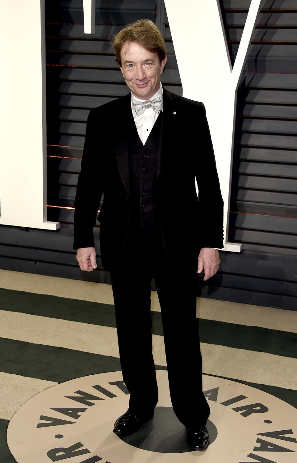 <p>Martin Short arrives at the Vanity Fair Oscar Party on Sunday, Feb. 26, 2017, in Beverly Hills, Calif. (Photo by Evan Agostini/Invision/AP) </p>