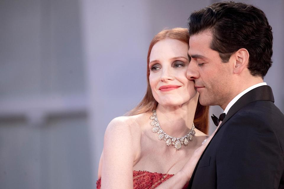"""<p>Did costars Oscar Isaac and Jessica Chastain's sensual <a href=""""https://people.com/tv/jessica-chastain-oscar-isaac-venice-film-festival-photos/"""" rel=""""nofollow noopener"""" target=""""_blank"""" data-ylk=""""slk:red carpet photo-op"""" class=""""link rapid-noclick-resp"""">red carpet photo-op</a> single handedly renew my excitement about the the number of <a href=""""https://people.com/tv/fall-2021-tv-shows-to-watch/?slide=d81a9fac-4cbc-4eb8-a89a-608bcb53efae#d81a9fac-4cbc-4eb8-a89a-608bcb53efae"""" rel=""""nofollow noopener"""" target=""""_blank"""" data-ylk=""""slk:television shows premiering this fall"""" class=""""link rapid-noclick-resp"""">television shows premiering this fall</a>? Why yes, yes it did. </p> <p>From <a href=""""https://people.com/tv/jessica-chastain-jokes-about-reaction-to-viral-oscar-isaac-red-carpet-moment-not-gonna-happen/"""" rel=""""nofollow noopener"""" target=""""_blank"""" data-ylk=""""slk:inner-arm kisses"""" class=""""link rapid-noclick-resp"""">inner-arm kisses</a> to <a href=""""https://www.instagram.com/p/CT0Gck0BG_6/"""" rel=""""nofollow noopener"""" target=""""_blank"""" data-ylk=""""slk:hogging hot water bottles"""" class=""""link rapid-noclick-resp"""">hogging hot water bottles</a>, here are some of the best behind-the-scenes moments with cast members of your soon-to-be favorite new TV shows. </p>"""