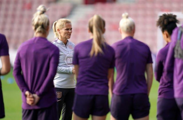 Sarina Wiegman has taken charge of England after four-and-a-half years as Holland boss (Andrew Matthews/PA).