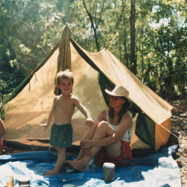 "<p>The <em>Thor</em> star threw it back to a childhood camping trip with his mom, Leonie. ""Love u mum,"" he wrote along with the photo of him shirtless years before he was leading man material. (Photo: <a href=""https://www.instagram.com/p/BUGTR7UBJAg/?taken-by=chrishemsworth"" rel=""nofollow noopener"" target=""_blank"" data-ylk=""slk:Chris Hemsworth via Instagram"" class=""link rapid-noclick-resp"">Chris Hemsworth via Instagram</a>) </p>"