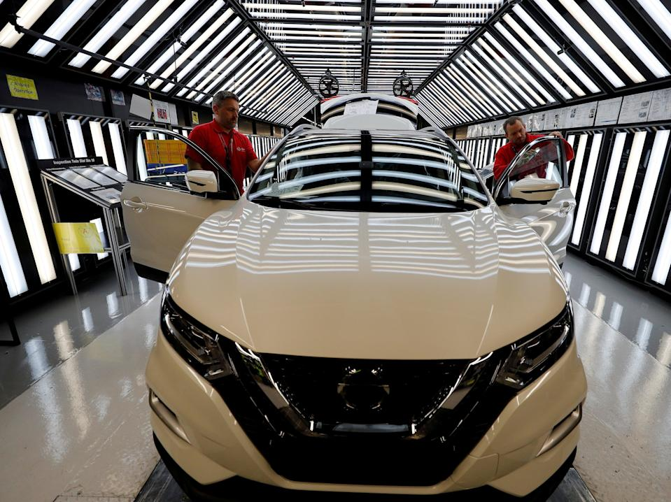 Employment boost welcomed as Nissan announces plans for a huge new plant in Sunderland (Phil Noble/Reuters)