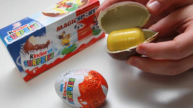 Toy-Filled Chocolate Eggs Legal in US