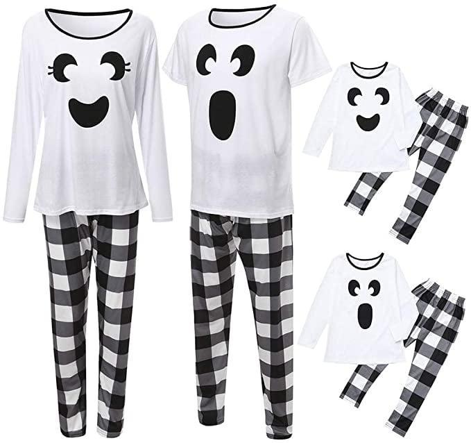 <p>These <span>Ghost Matching Family Halloween Pajama SetS</span> ($20) are both cute and spooky!</p>