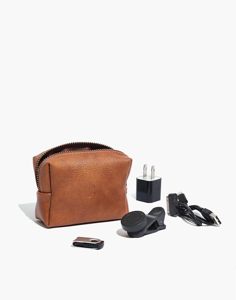 """<p><strong>Pinch Provisions</strong></p><p>madewell.com</p><p><strong>$27.00</strong></p><p><a href=""""https://go.redirectingat.com?id=74968X1596630&url=https%3A%2F%2Fwww.madewell.com%2Fpinch-provisionsreg%253B-tech-kit-H3245.html&sref=https%3A%2F%2Fwww.cosmopolitan.com%2Fstyle-beauty%2Ffashion%2Fg32619153%2Fgifts-for-man-who-has-everything%2F"""" rel=""""nofollow noopener"""" target=""""_blank"""" data-ylk=""""slk:Shop Now"""" class=""""link rapid-noclick-resp"""">Shop Now</a></p><p>No matter how many chargers adds to his stash, he could always use another spare. This kit of tech emergency supplies includes it all, like a phone charger, a camera lens, a USB, and more.</p>"""