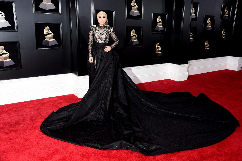<p>La star del pop ha calcato il red carpet dei Grammy Awards pochi giorni dopo lo strepitoso concerto a Milano. (Getty Images) </p>