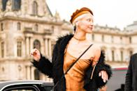 """<p>As we're all aware, the French just know what they're doing when it comes to style. Over the years, you've doubtlessly attempted to emulate that<em> je ne sais quoi</em> that is synonymous with French-girl fashion. But there's one staple of Parisienne style you may have avoided for fear of not being able to pull it off: The <a href=""""https://www.marieclaire.com/fashion/news/g4821/guide-to-hats/"""" rel=""""nofollow noopener"""" target=""""_blank"""" data-ylk=""""slk:beret"""" class=""""link rapid-noclick-resp"""">beret</a>. This iconic chapeau has been a runway staple for fashion houses for years, and style icons like <a href=""""https://www.glamour.com/gallery/celebrity-beret-trend"""" rel=""""nofollow noopener"""" target=""""_blank"""" data-ylk=""""slk:Rihanna"""" class=""""link rapid-noclick-resp"""">Rihanna</a>, <a href=""""https://www.marieclaire.com/celebrity/g2288/princess-diana-lifetime/?slide=14"""" rel=""""nofollow noopener"""" target=""""_blank"""" data-ylk=""""slk:Princess Di"""" class=""""link rapid-noclick-resp"""">Princess Di</a> and <a href=""""https://www.cosmopolitan.com/uk/fashion/style/a36910/clueless-20th-anniversary-cher-horowitz-best-outfits/"""" rel=""""nofollow noopener"""" target=""""_blank"""" data-ylk=""""slk:Cher Horowitz"""" class=""""link rapid-noclick-resp"""">Cher Horowitz</a> have worn this headpiece with ease. And now, so can you! The beret is such a versatile accessory and comes in many different fabrics, from the classic wool-felt to cool and edgy leather. It gives a touch of femininity to any look it's paired with. Here, seven outfits we've styled to show you how to confidently accessorize any outfit with a beret.<br></p>"""