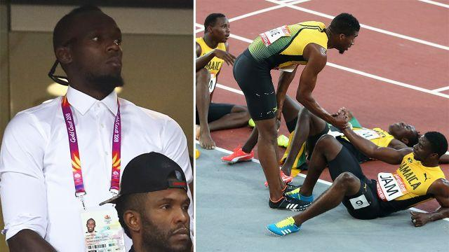 Life without Bolt began poorly for Jamaica. Image: Getty
