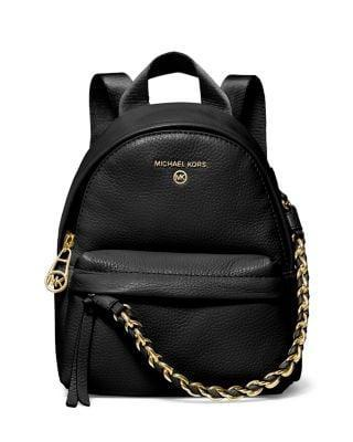 <p>The chain bag of this <span>MICHAEL Michael Kors Slater XS Convertible Messenger Backpack</span> ($194, originally $258) makes it look so much more expensive. It's a great deal!</p>