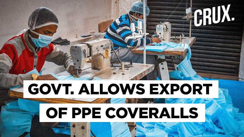 India To Export 50 Lakh PPE Coveralls Per Month To Boost Make In India Export