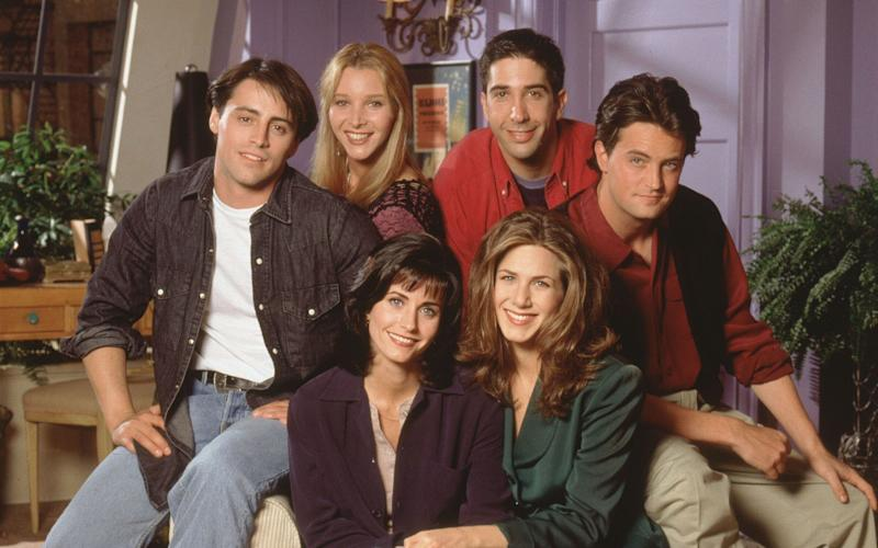 The US show, 'Friends' has topped the list of the UK's most watched streaming shows - Reuters