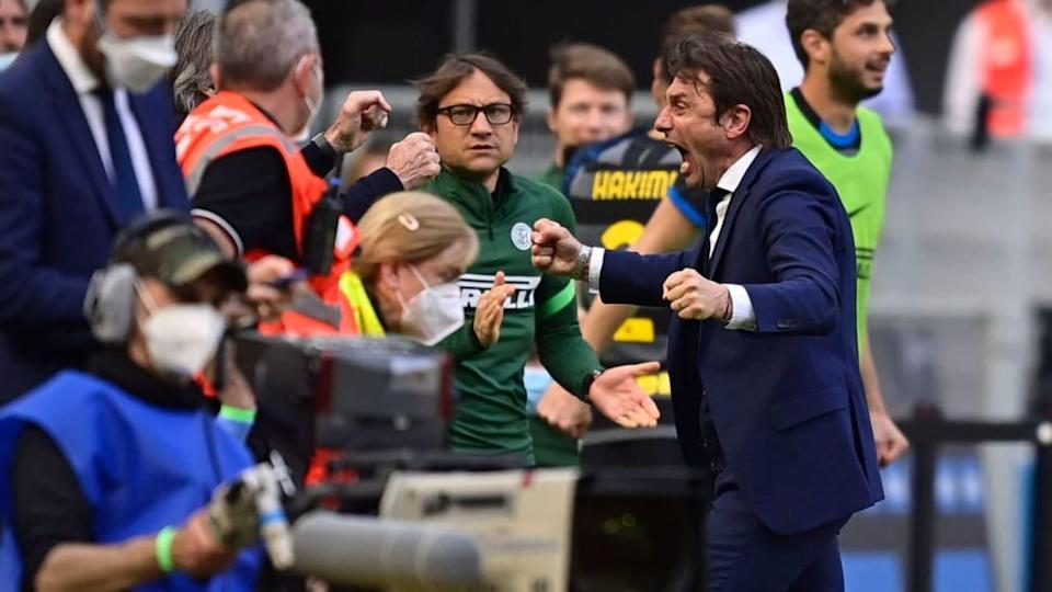La gioia di Antonio Conte | Soccrates Images/Getty Images