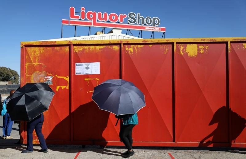 South African alcohol ban stirs frustration but may free up hospitals