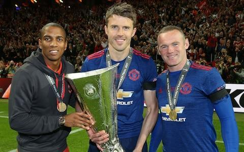 "Michael Carrick has confirmed he will retire at the end of the season and is set to join Jose Mourinho's coaching staff at Manchester United. The veteran midfielder, 36, underwent a minor operation in October to correct an irregular heart rhythm that has limited his appearances this season. Carrick could be involved in the second leg of United's Champions League round-of-16 tie at home to Sevilla on Tuesday with Paul Pogba uncertain to future and Ander Herrera injured. And he admits he is hoping to make the most of the next few months as he prepares to bring the curtain down on an illustrious 19-year playing career before likely taking up an offer to join Mourinho's back room team. Carrick underwent a cardiac ablation after a series of tests in the wake of feeling sick and dizzy after playing in an EFL Cup tie against Burton Albion in September, and he did not play against until late January. Michael Carrick with Ashley Young, Wayne Rooney and the Europa League trophy last May Credit: Getty images ""I had a problem during the Burton game during the second half. I had a few tests after that and the same problem came back on the Sunday of that week in training,"" he explained. ""I had the procedure the following week. It took a little while to get over. There were some times there, two or three days, when I wondered whether I would carry on playing or not. Is it worth it or not? 'But that quickly passed and I got back fit. I wanted to finish on my own terms so I was determined to get back fit. I've been training hard and we'll see what happens for the rest of the season. ""Between now and the end of the season I'll keep myself fit and ready. You never know when you are going to be needed. Hopefully I can get some game time between now and the end of the season. I still see myself as a player for now anyway. I'm still enjoying training and being out there with the boys."" Asked if the prospect of retirement made him emotional, Carrick said: ""No, not really to be honest. It is what it is. You've got to be quite comfortable with the situation. I don't really think too much about it. ""I think when I played at Newcastle the other week it was probably a bit more emotional for my parents, seeing my mum after the game. Michael Carrick is desperate to reach the Champions League quarter-finals Credit: AP ""It's not something I've thought of. I'm just thinking about enjoying the rest of the season and playing as much as I can. I hope tomorrow (Tuesday) is not the last Champions League one by a long stretch. But there is no point thinking about it before the game. ""I'd like to be remembered as someone who tried to do things the right way and tried to work for the team. Being remembered as a team player is important, and I can look at it and say, 'I've given it my best'. ""I've tried all sorts of different things to bring the best out of me over the years, and given my best to ensure I have no regrets."" Carrick is desperate to reach the Champions League quarter-finals and says it is important the club get to a stage of competing regularly again at this stage of the competition. ""For so long it was kind of a given, not taken for granted but it was just what we did and for so many years when you go without that a little bit, it kind of hurts, you kind of miss it,"" he said. ""But we are back in the knockout stages where it really counts and you get that extra spicy feeling, there is a little bit extra to it and you want to be playing in these games. They are the biggest games at this time of the season. Again, not looking past Tuesday night, but for seasons ahead now I think we need to develop as a squad, we need to constantly be in this position and expect that of ourselves."""