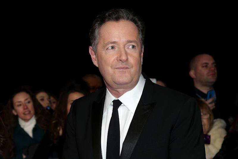 File photo: TV Presenter Piers Morgan: PA Archive/PA Images