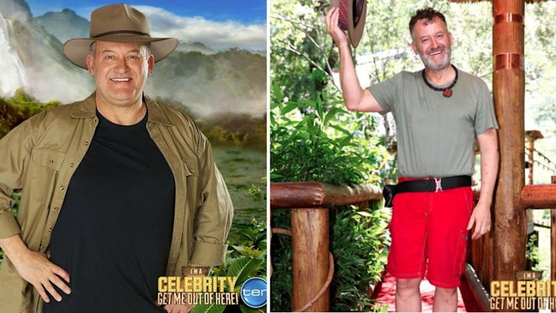 Following his exit weigh-in, Paul reportedly had also lost 8kg. Source: Ten