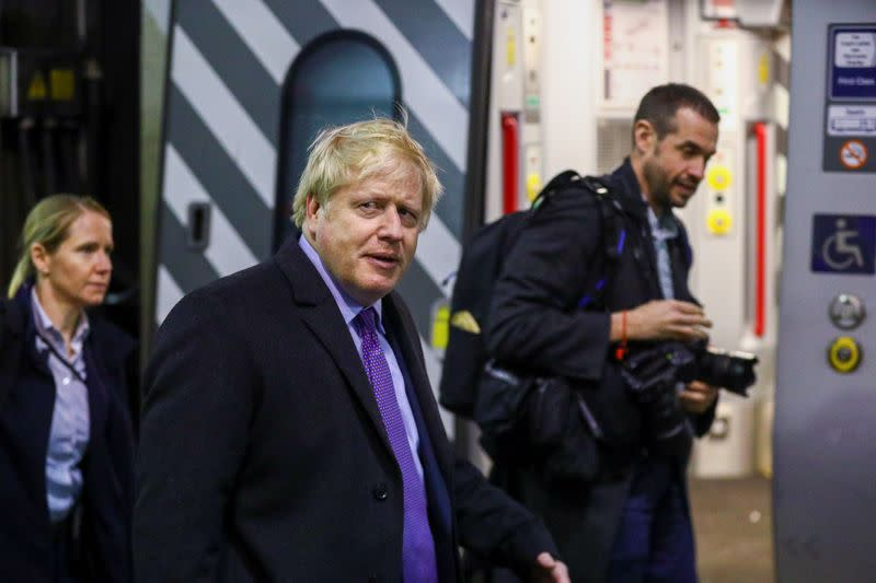 Johnson has 10-point lead over Labour before election - Savanta ComRes poll