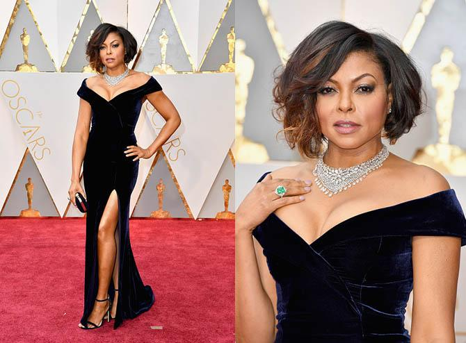 HOLLYWOOD, CA - FEBRUARY 26: Actor Taraji P. Henson attends the 89th Annual Academy Awards at Hollywood & Highland Center on February 26, 2017 in Hollywood, California. (Photo by Steve Granitz/WireImage)