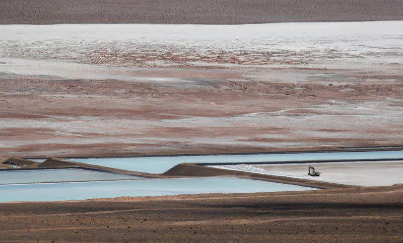 FILE PHOTO: In Argentina's north a new 'white gold' rush for EV metal lithium