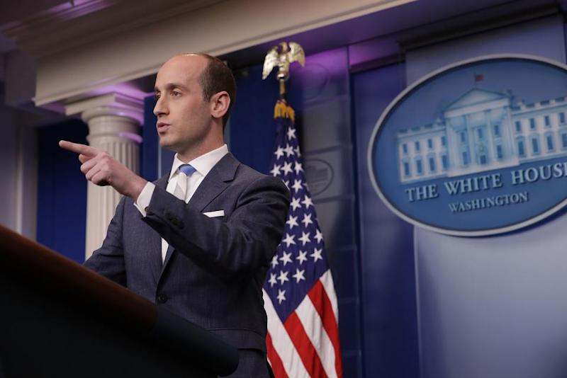 NYT Nixes Audio Of Stephen Miller Interview From Podcast After WH Asked
