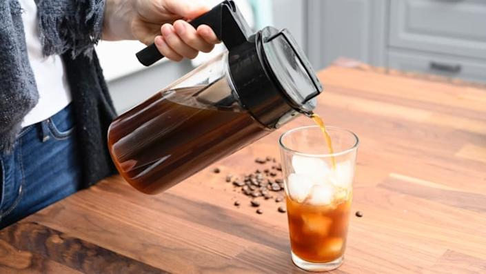 Brew up the perfect glass of cold brew with this must-have from Takeya.