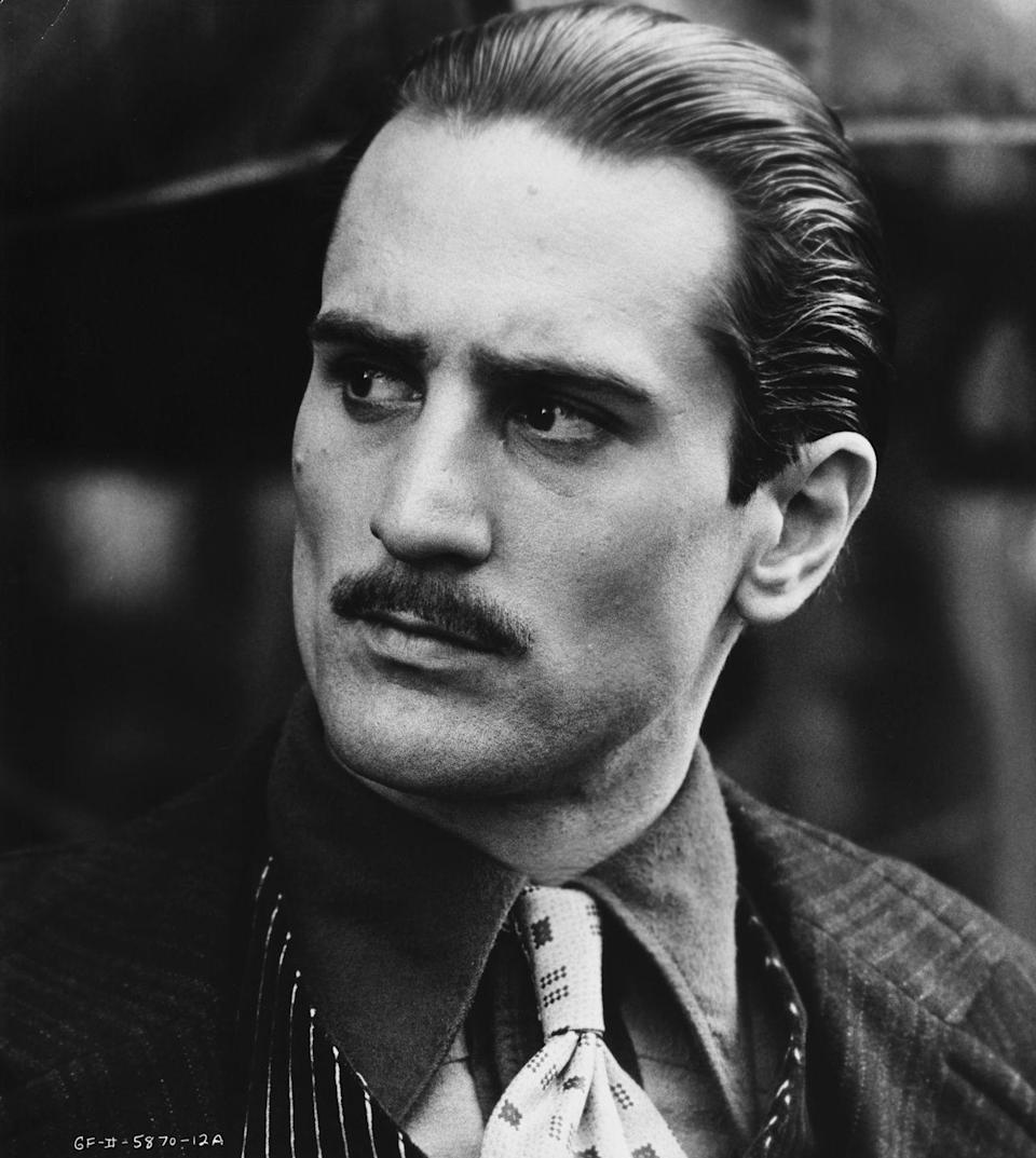<p>One of the film's newest cast members was a young Robert De Niro, who played a young Don Vito Corleone in the movie's flashbacks. </p>