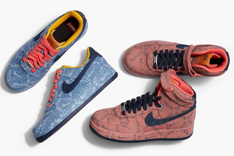 2cf508d054aa5 These Levi's x Nike Sneakers Are a Denim Lover's Dream