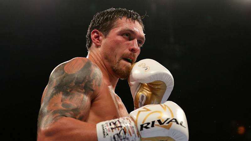 Wilder dismisses heavyweight debutant Usyk as 'too small'