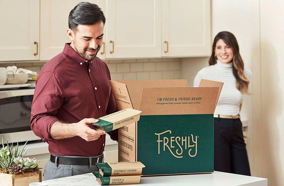 """Freshly might be a good option for busy professionals """"who need to get a handle on their diet and curb their spending on takeout."""" (Photo: Freshly)"""