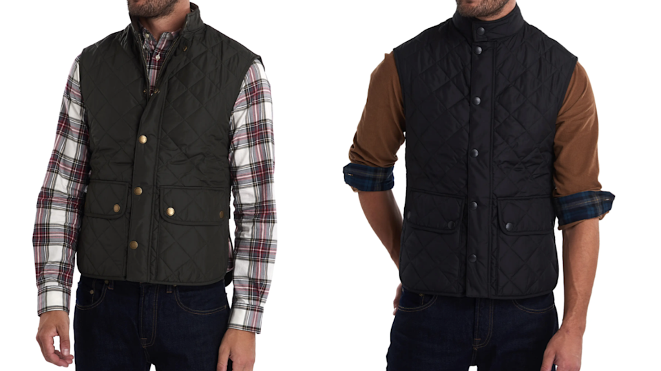 Barbour is well-known for its quilted outerwear.