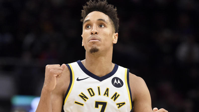 Malcolm Brogdon, pictured playing for the Indiana Pacers, has been one of the most impressive Fantasy bargains this season.