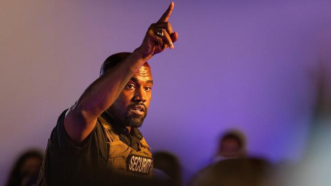Kanye West.  (Lauren Petracca Ipetracca/The Post And Courier via AP)
