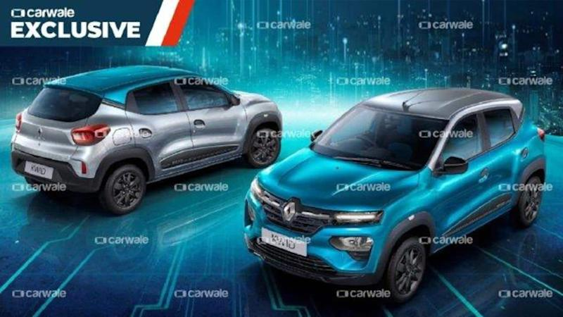 Ahead of launch in India, Renault KWID Neotech edition leaked