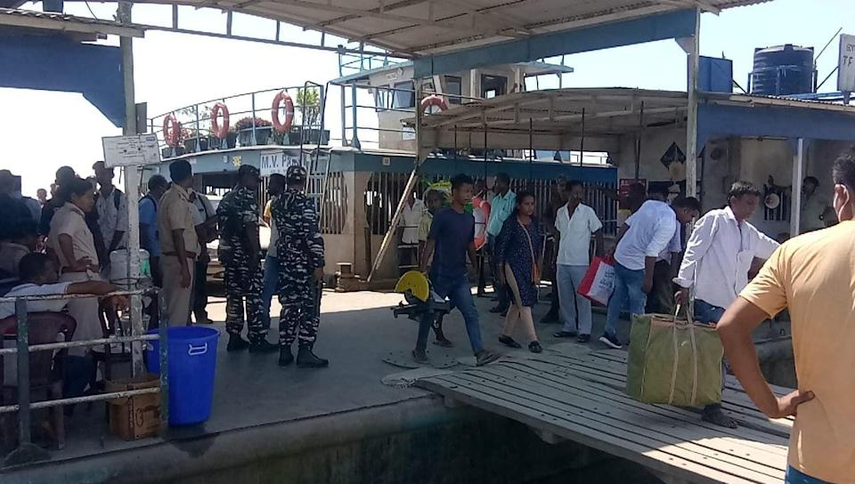 """<div class=""""paragraphs""""><p>Security increased at the ghat after the accident.</p></div>"""