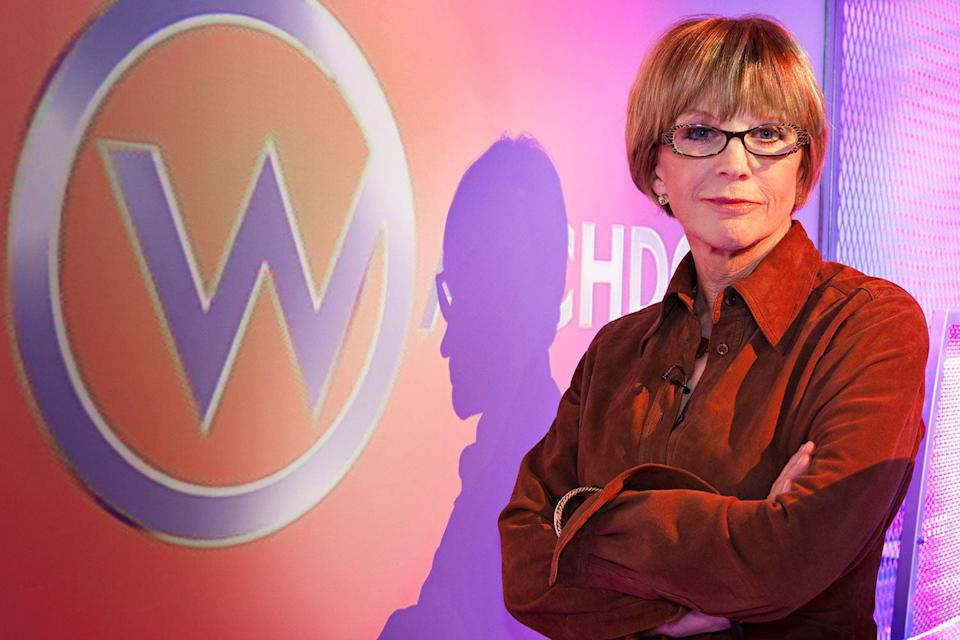 Consumer rights champion: Robinson won plenty of fans as the host of Watchdog (BBC)