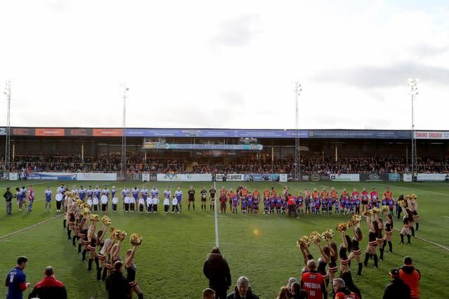 Castleford hosted St Helens at the weekend (Richard Sellers/PA)