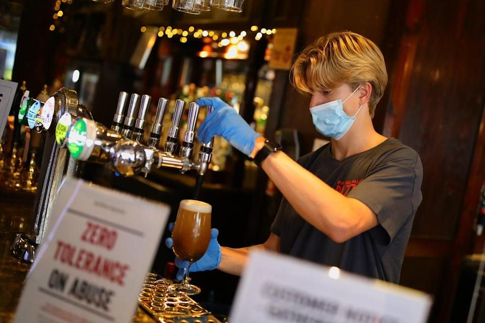 Wetherspoons falls to a record loss. (Aaron Chown / PA) (PA Archive)