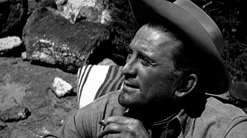Kirk Douglas in 'Lonely Are the Brave'. (Credit: Universal)