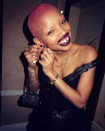<p>The model Slick Woods loves to play up her lips, and Lust 004 is the best way to do it. (Photo: Slick Woods via Instagram) </p>