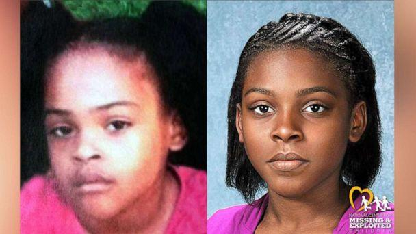 PHOTO: Relisha Rudd vanished in Washington, D.C., on March 19, 2014. Forensic artists with the National Center for Missing & Exploited Children created this progression image for what she may look like in 2020. (NCMEC)