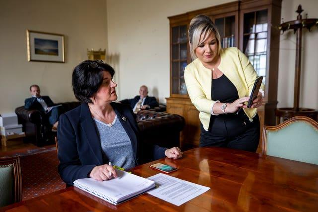 Behind the scenes at Stormont